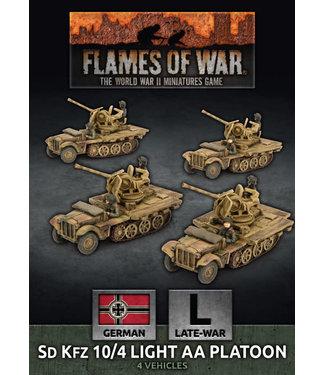Flames of War SdKfz 10/4 Light AA Platoon