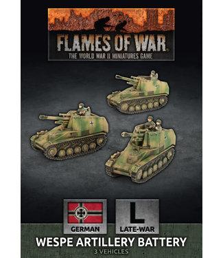 Flames of War Wespe Artillery Battery