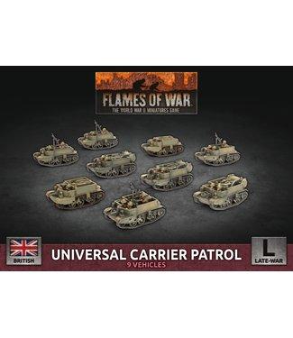 Flames of War Universal Carrier Patrol (Plastic)