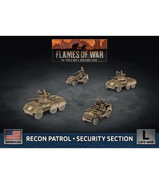 Flames of War Recon Patrol - Security Section (Plastic)
