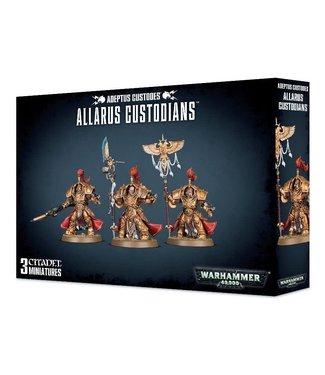 Warhammer 40.000 Allarus Custodians / Vexilus Praetor  / Shield-Captain