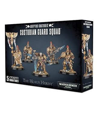 Warhammer 40.000 Custodian Guard Squad / Vexilus Praetor / Shield-Captain
