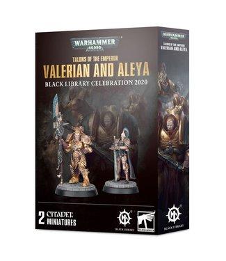 Warhammer 40.000 Talons of the Emperor Valerian and Aleya