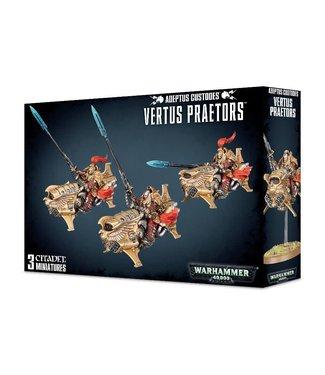 Warhammer 40.000 Vertus Praetors / Shield-Captain on Dawneagle Jetbike