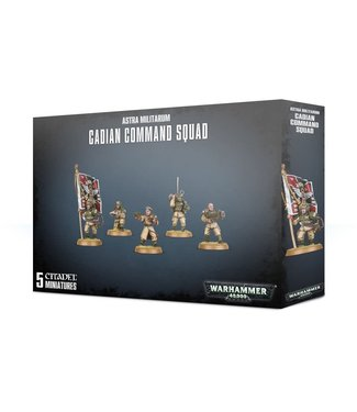 Warhammer 40.000 Cadian Command Squad