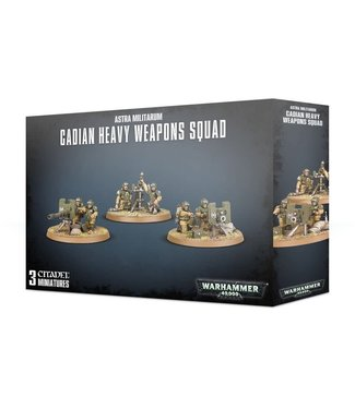 Warhammer 40.000 Cadian Heavy Weapon Squad