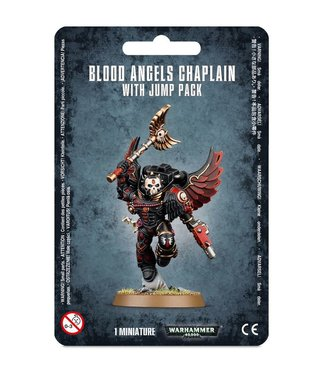 Warhammer 40.000 Blood Angels Chaplain With Jump Pack