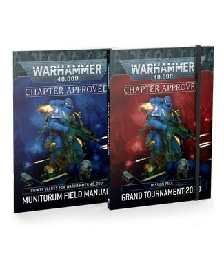 Warhammer 40.000 Chapter Approved: Grand Tournament 2020 Mission Pack and Munitorum Field Manual