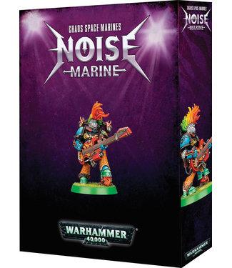 Warhammer 40.000 Chaos Space Marines Noise Marine