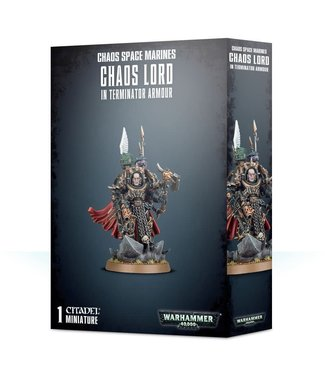 Warhammer 40.000 Chaos Space Marines Terminator Lord / Sorcerer Lord in Terminator Armour