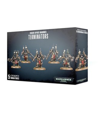 Warhammer 40.000 Chaos Space Marines Terminators
