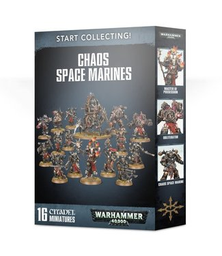 Warhammer 40.000 Start Collecting! Chaos Space Marines