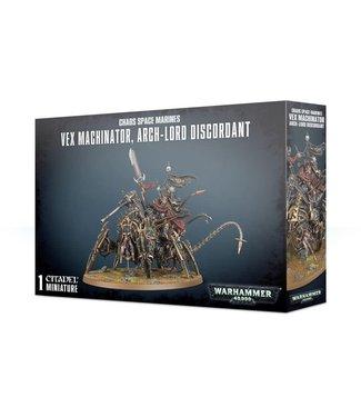 Warhammer 40.000 Vex Machinator, Arch-Lord Discordant