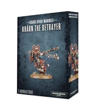 Warhammer 40.000 World Eaters Khârn the Betrayer