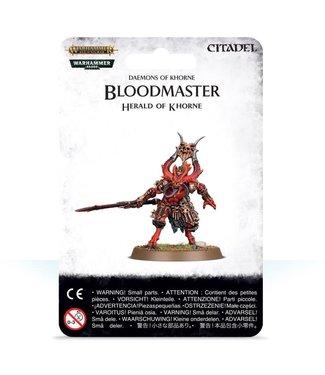 Age of Sigmar Bloodmaster, Herald of Khorne