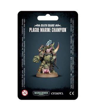 Warhammer 40.000 Plague Marine Champion