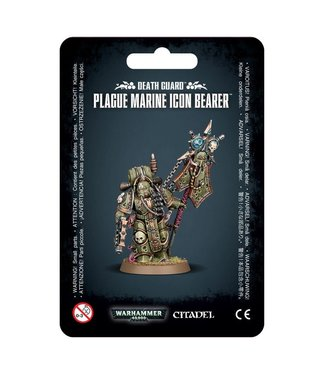 Warhammer 40.000 Plague Marine Icon Bearer