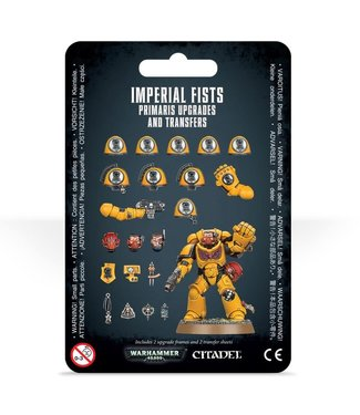 Warhammer 40.000 Imperial Fists Primaris Upgrades and Transfers