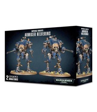 Warhammer 40.000 Armiger Helverins / War Dogs with War Dog Autocannon