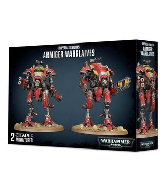 Warhammer 40.000 Armiger Warglaives / War Dogs with Thermal Spear