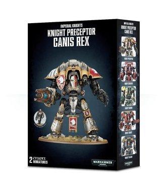 Warhammer 40.000 Knight Preceptor Canis Rex / Crusader / Warden / Gallant / Despoiler