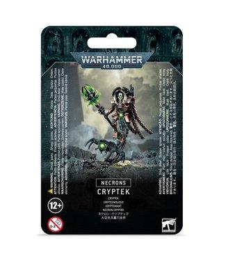 Warhammer 40.000 Necron Cryptek (plastic)