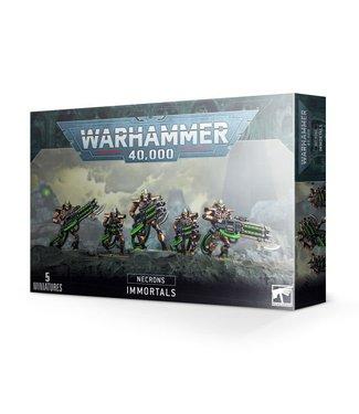 Warhammer 40.000 Necron Immortals / Deathmarks
