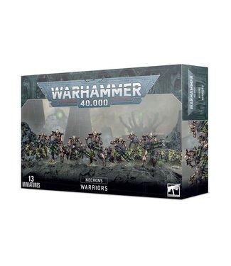 Warhammer 40.000 Necron Warriors with Canoptek Scarabs