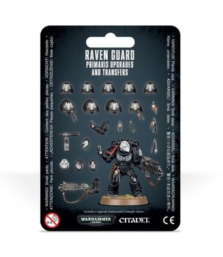 Warhammer 40.000 Raven Guard Primaris Upgrades and Transfers