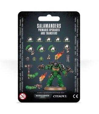 Warhammer 40.000 Salamanders Primaris Upgrades and Transfers