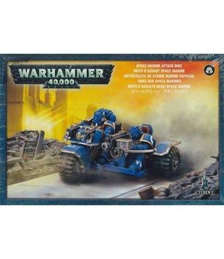 Warhammer 40.000 Space Marine Attack Bike