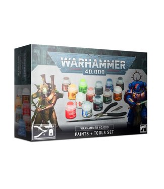 Warhammer 40.000 Warhammer 40,000 Paints & Tools Set