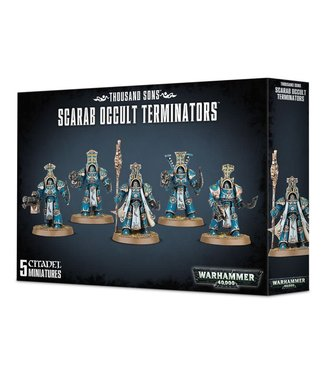 Warhammer 40.000 Scarab Occult Terminators
