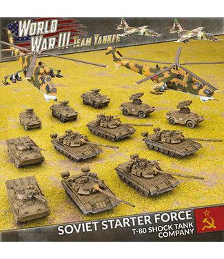 World War III Team Yankee Soviet Starter Force: T-80 Shock Battalion
