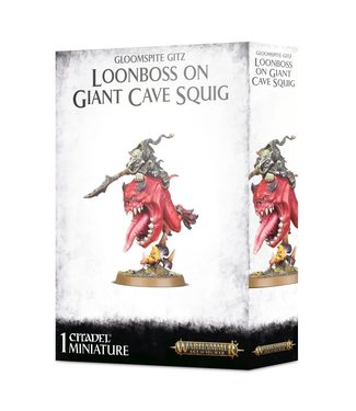 Age of Sigmar Loonboss on Giant Cave Squig