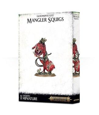 Age of Sigmar Mangler Squigs / Loonboss on Mangler Squigs