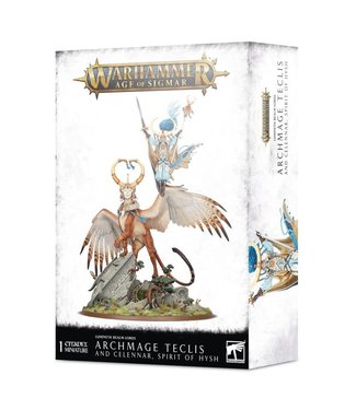 Age of Sigmar Archmage Teclis and Celennar, Spirit of Hysh