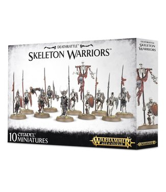 Age of Sigmar Skeleton Warriors