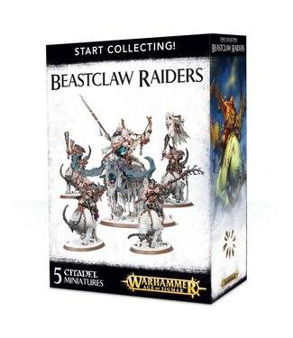 Age of Sigmar Start Collecting Beastclaw Raiders