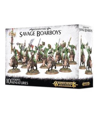Age of Sigmar Savage Boarboys