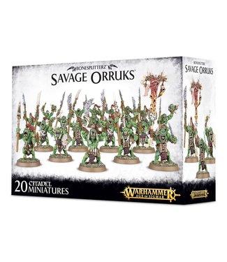 Age of Sigmar Savage Orruks / Morboys / Arrowboys