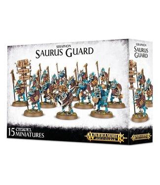 Age of Sigmar Saurus Guard