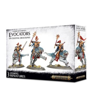 Age of Sigmar Evocators on Celestial Dracolines