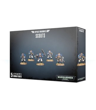 Warhammer 40.000 Space Marines Scouts