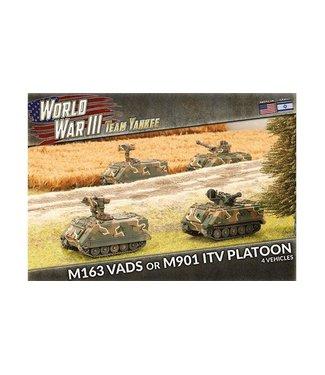 World War III Team Yankee M163 VADS or M901 ITV Platoon (Plastic)