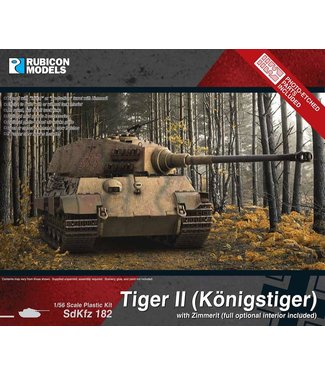 Rubicon Models King Tiger with Zimmerit