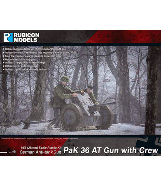 Rubicon Models PaK 36 AT Gun with Crew
