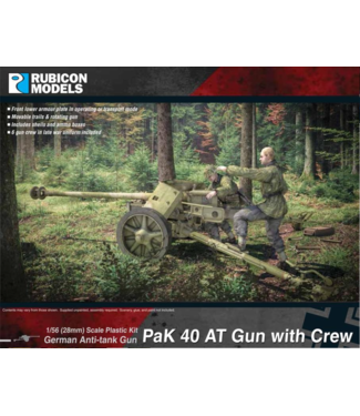 Rubicon Models PaK 40 AT Gun with Crew