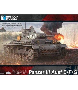 Rubicon Models Panzer III Ausf E/F/G