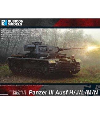 Rubicon Models Panzer III Ausf H/J/L/M/N